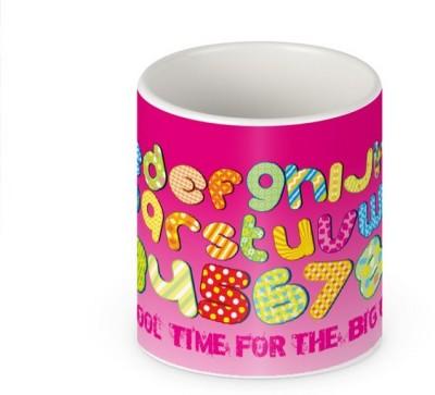 HuesLab School Time For The Big Girl Ceramic Mug
