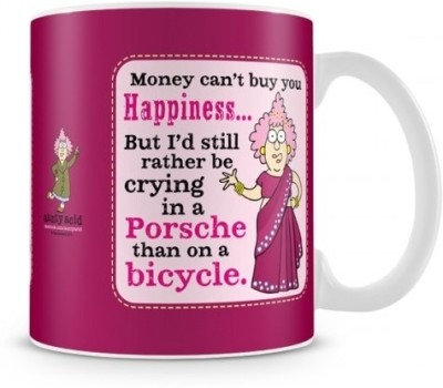 Aunty Acid Money can,t buy everything Ceramic Mug