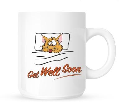 Huppme Get Well Soon 2 Ceramic Mug