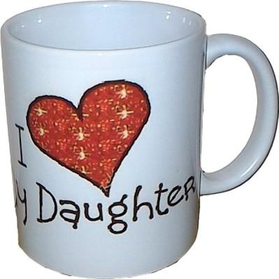 Exxact Love You Daughter Ceramic Mug