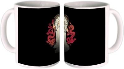Shopmillions Dragon Girl Ceramic Mug