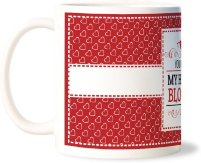 Lovely Collection You Make My Heart Bloom Ceramic Mug