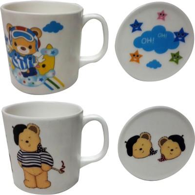 Zido Bear and OH OH Melamine Mug