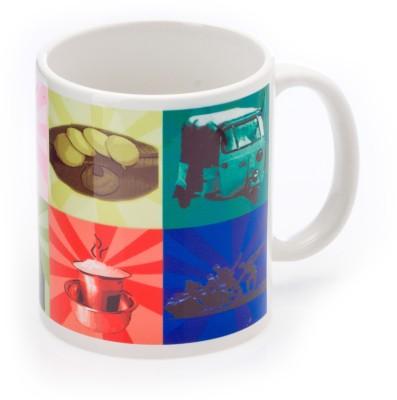 Urumi color Porcelain Mug