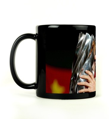 Shoperite Novak Champion Ceramic Mug