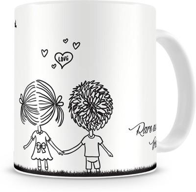 Print Haat Couple Love & Friendship Ceramic Mug