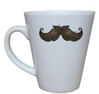 Thelostpuppy Moustache4smg Ceramic Mug