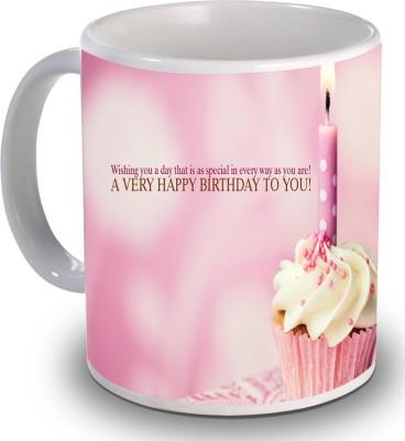 Print Helllo Happy Birthday R227 Ceramic Mug
