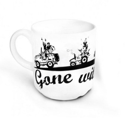 Happily Unmarried Gone with the Pind Coffee Ceramic Mug