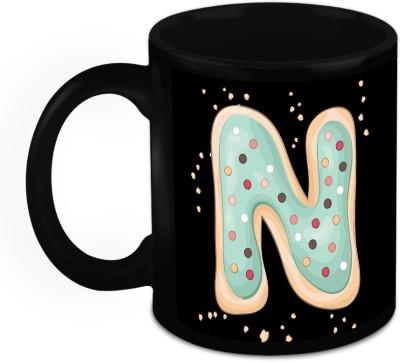 HomeSoGood One Of A Kind Alphabet N Ceramic Mug