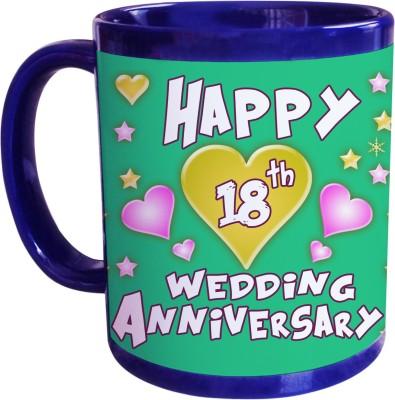 Sajawat Homes 18th Wedding Anniversary Coffee Ceramic Mug