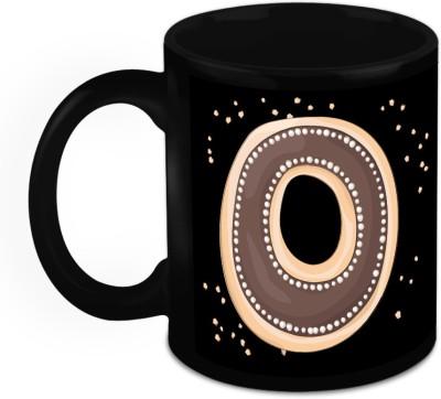 HomeSoGood One Of A Kind Alphabet O Ceramic Mug