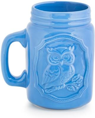 Chumbak Rocking Rooster- Green Ceramic Mug(600 ml) at flipkart