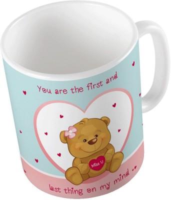 Little India Designer Romantic Print Coffee  777 Ceramic Mug