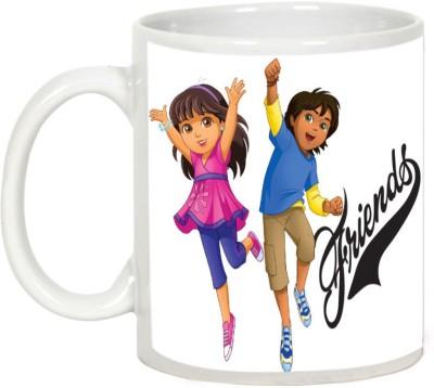 AllUPrints Gift For Friend - Great Friend Forever Ceramic Mug