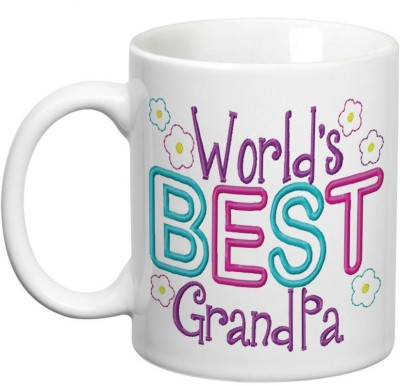 Prithish World's Best Grandpa Ceramic Mug