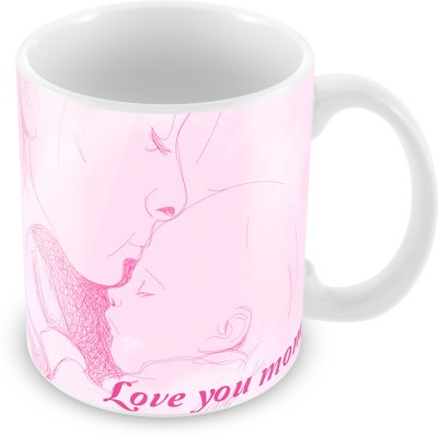 Prinzox Love You Mom Theme Ceramic Mug