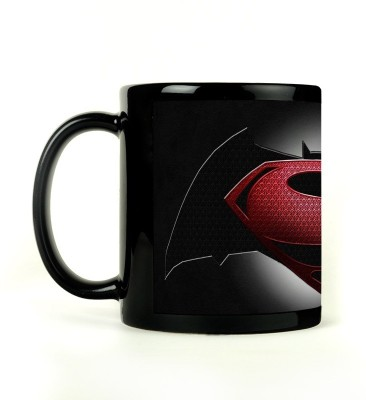 Shoperite Batman Superman Ceramic Mug