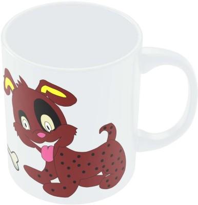PosterGuy The Jubilant Dog Animated Art Ceramic Mug