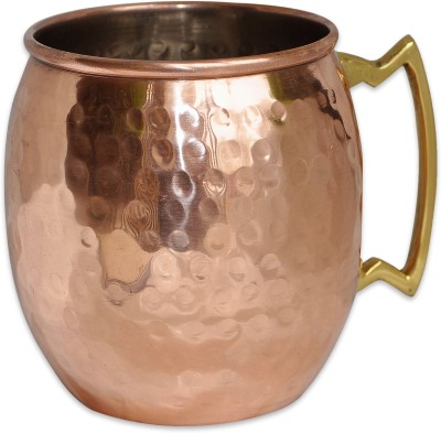 Dungricraft Copper Moscow Mule Hammered Dutch Style Lacquered Finish Copper Mug