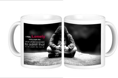 Shopmillions I Feel Lonely Ceramic Mug