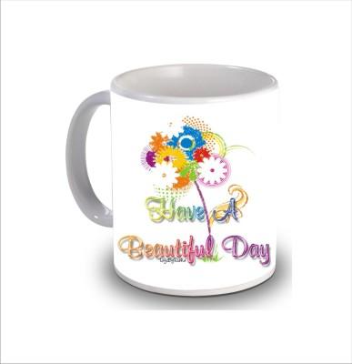 Print Hello Happy Birthday Cake b270 Ceramic Mug