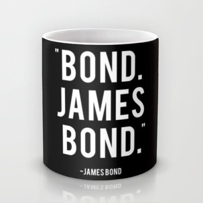 Astrode Bond James Bond Quote Ceramic Mug