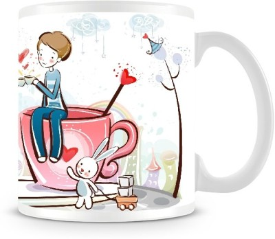 Shoprock Couples on Cup Coffee Ceramic Mug