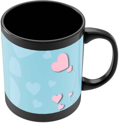 PosterGuy The Heart String Quirky Illustration Ceramic Mug