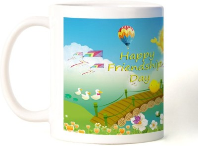Rockmantra Sunny World Happy Friendship Day Ceramic Mug