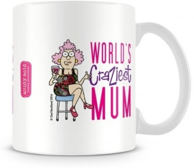 Aunty Acid Craziest Mom Ceramic Mug