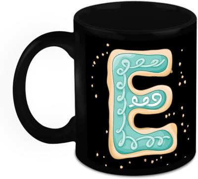 HomeSoGood One Of A Kind Alphabet E Ceramic Mug