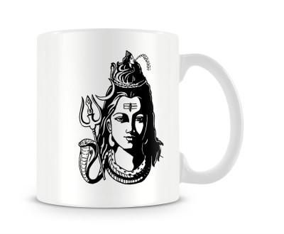 Tashanstreet Bholenath with Ganga Ceramic Mug