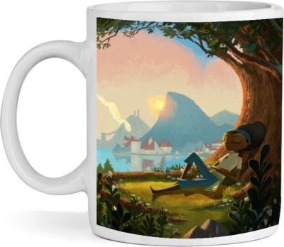 BSEnterprise Two Sides Of Day Ceramic Mug