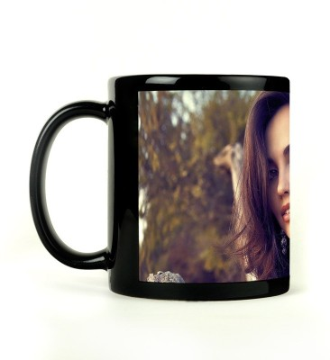 Shoperite Beautiful Girl Ceramic Mug