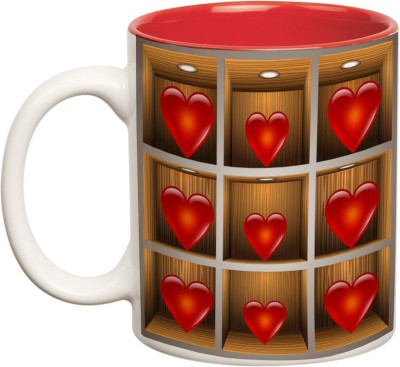 Mugwala Heart Rack Ceramic Mug