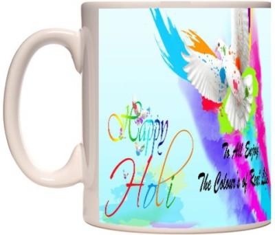 Onlineworld Holi Theme 04 Ceramic Mug