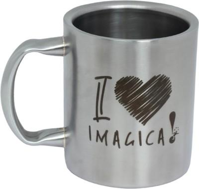 Imagica Coffee Metal I Love Imagica Stainless Steel Mug