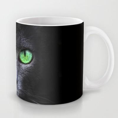 Astrode Black Cat Ceramic Mug