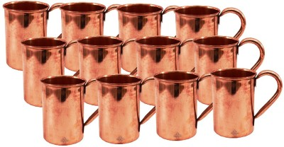 Indian Art Villa Set Of Moscow Mule Pure Copper  Cup Restaurant Home Garden Bar Hotel Ware Copper Mug