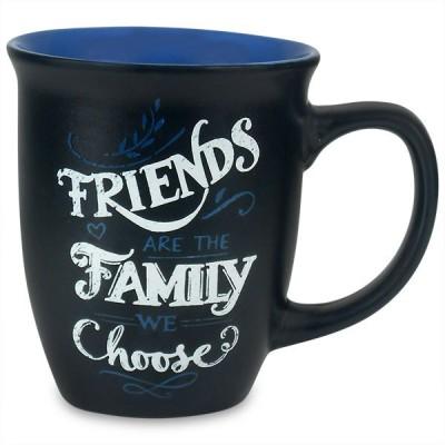 Archies Friend Are Family Chalk Effect  Ceramic Mug
