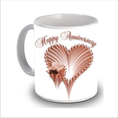 Print Hello happy anniversary 94 Ceramic Mug