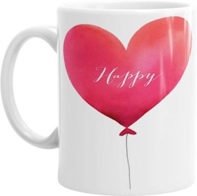 Hainaworld Happy Heart Coffee  Ceramic Mug