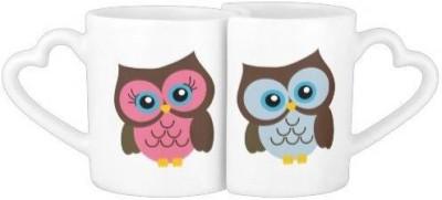 AM Creations Owel Ceramic Mug