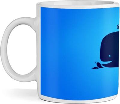 SBBT Big Fish Art Ceramic Mug