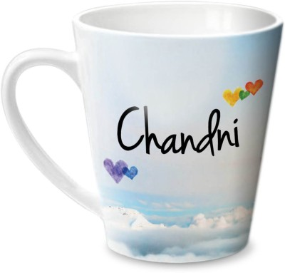 Hot Muggs Simply Love You Chandni Conical  Ceramic Mug