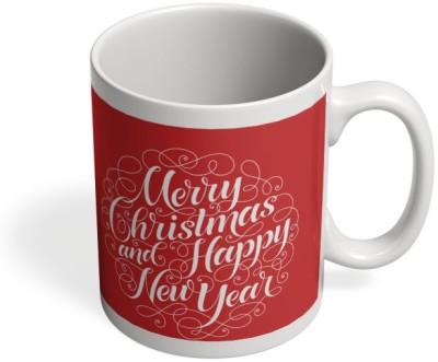 PosterGuy New Year & Christmas Typography New Year, Christmas, X-Mas, Typo, Wish, Gift Ceramic Mug