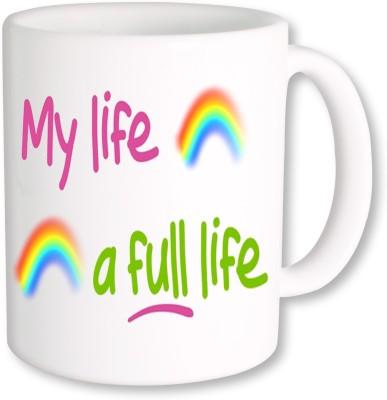 A Plus My Life a Full Life.jpg Ceramic Mug