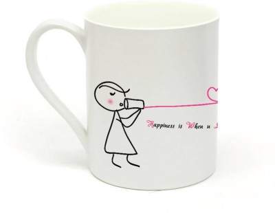 Sowing Happiness Listen to Me Ceramic Mug