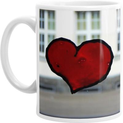 Hainaworld Heart Mark Coffee  Ceramic Mug